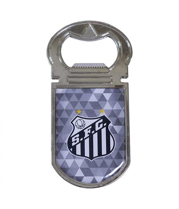 Abridor de garrafas imantado do Santos
