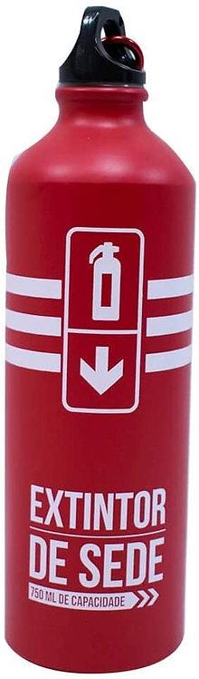 Garrafa Vermelha Alumínio Extintor 750ml