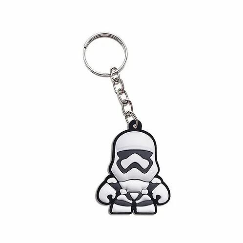 Chaveiro de borracha - Stormtrooper