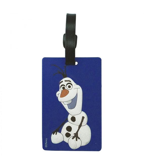 Tag para mala do Olaf - Frozen