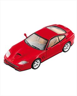 Ferrari 550 Maranello vermelha - escala 1/43