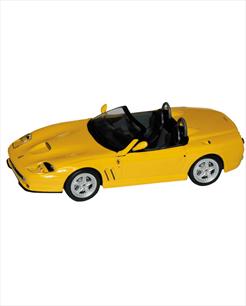 Ferrari 550 Barchetta amarela - escala 1/43