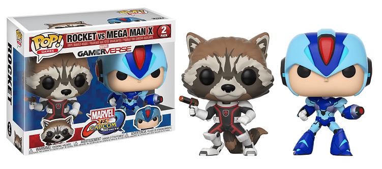 Rocket vs Mega Man X