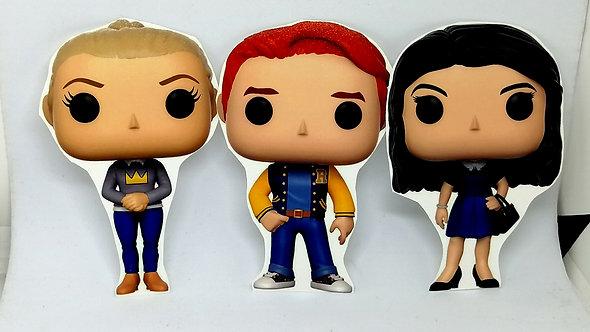Ímãs - Riverdale (Archie, Veronica, Jughead, Betty e Cheryl)