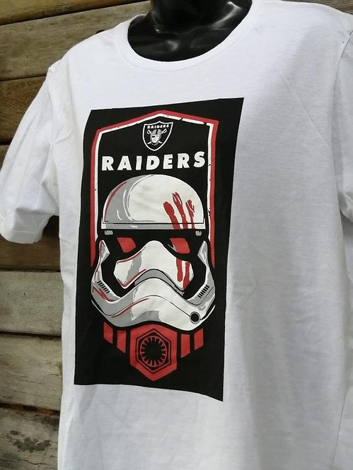 Camiseta NFL Raiders Star Wars