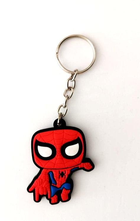 Chaveiro de borracha - Homem-Aranha