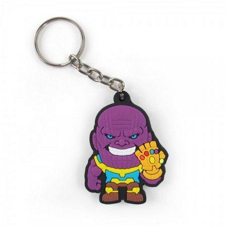 Chaveiro de borracha - Thanos