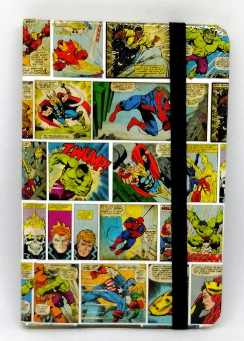 Caderno Super-heróis Marvel