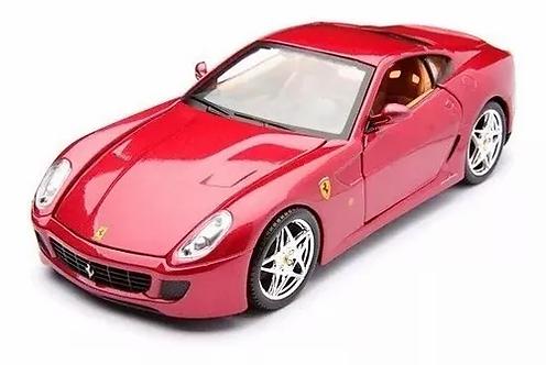 Ferrari 599 GTB Fiorano vermelha - escala 1/43