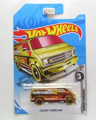 Custom ´77 Dodge Van - Hot Wheels