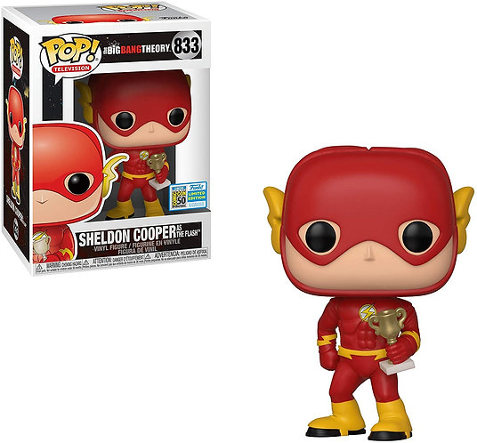 Funko Pop! Sheldon Cooper como The Flash Edição limitada