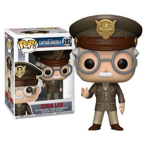 Stan Lee - Capitão América #282