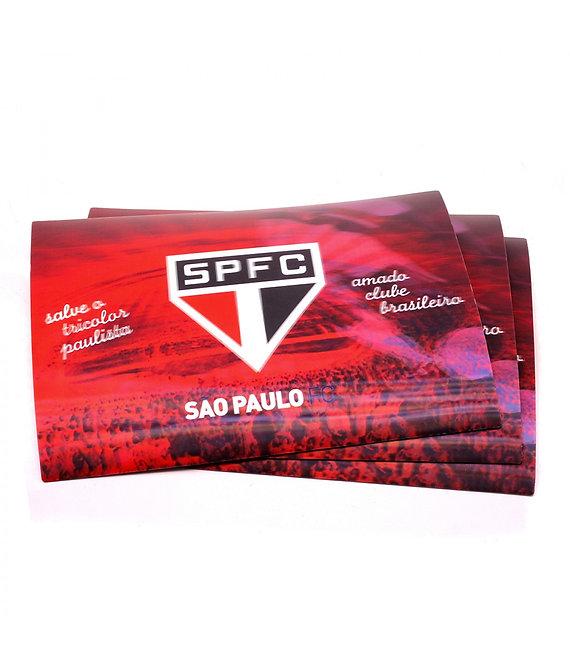 Jogo americano 3D do São Paulo (4 peças)