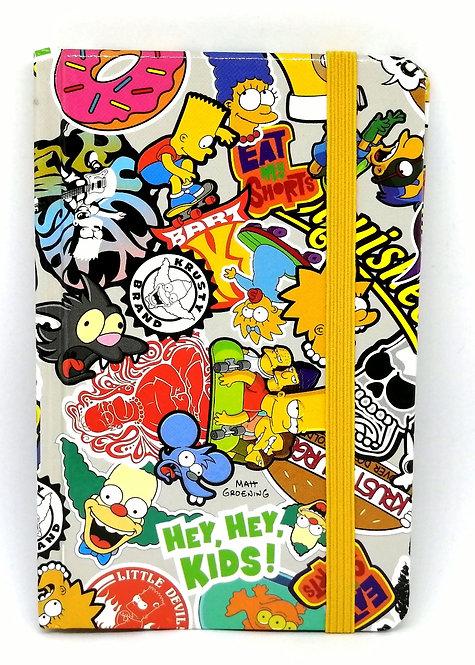 Caderno Os Simpsons