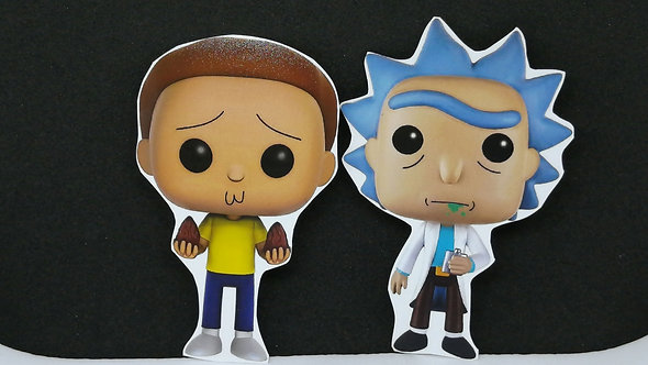 Ímãs Rick And Morty