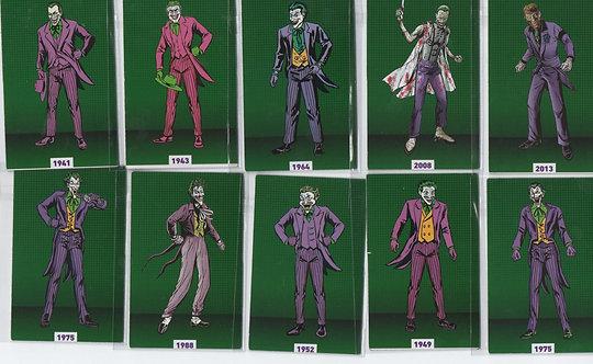 27 ímãs do Coringa (The Joker)