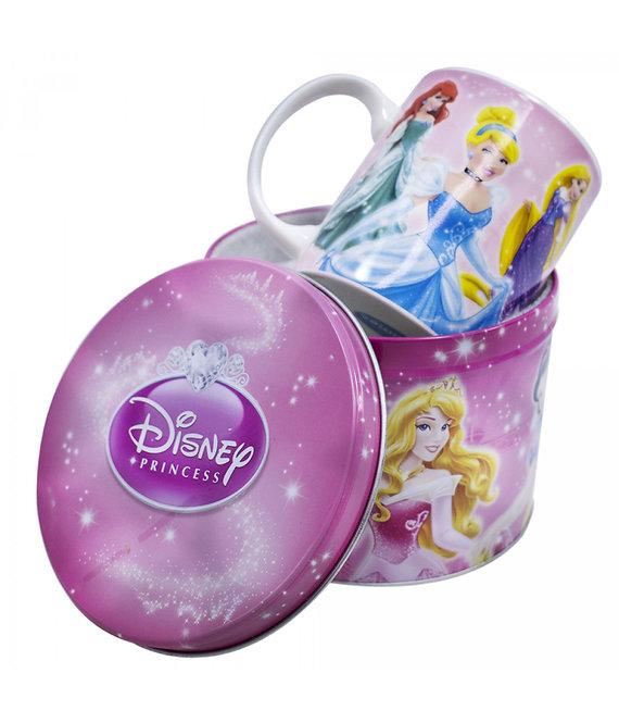 Caneca Princesas Disney com lata decorativa