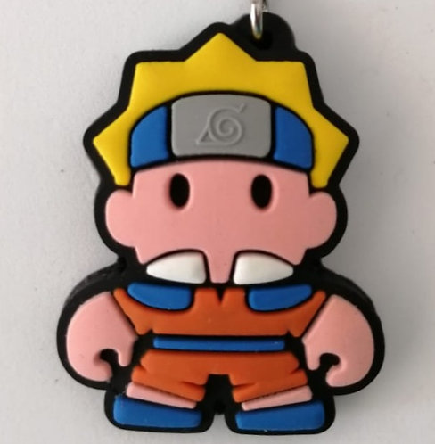 Chaveiro de borracha - Naruto