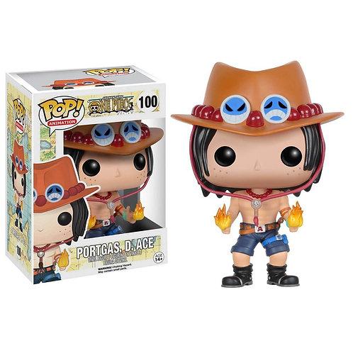 Funko Pop! One Piece Portgas D. Ace #100