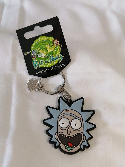 Chaveiro Rick oficial de borracha