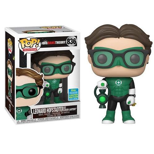 Leonard Hofstadter as Green Lantern - edição especial