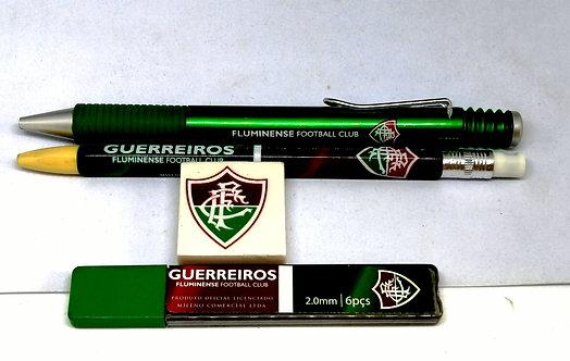Kit do Fluminense - caneta + lapiseira