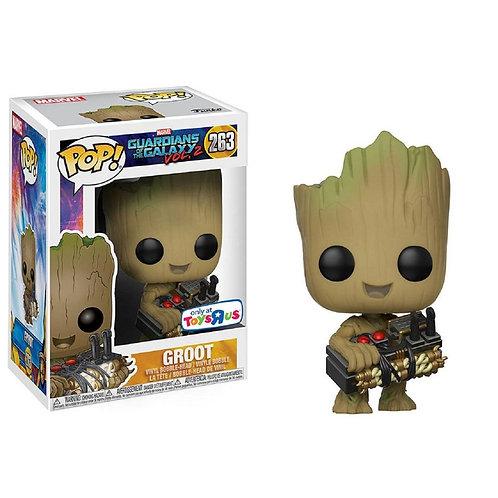 Funko Pop! Groot with Bomb (edição especial Toy R Us) #263