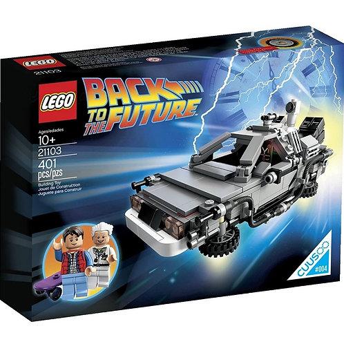 Lego De volta para o Futuro - DeLorean
