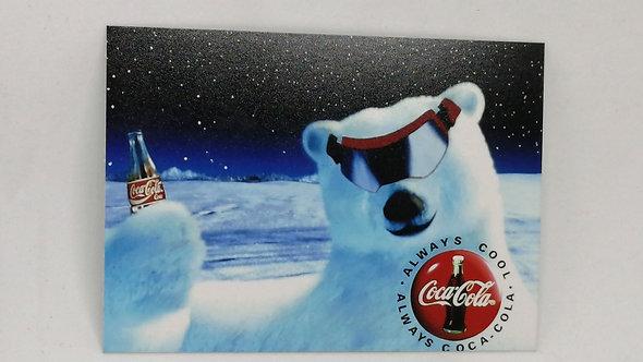 5 Ímãs Propagandas clássicas - Coca
