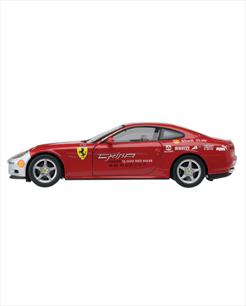 "Ferrari 612 Scaglietti ""China Tour"" vermelha - escala 1/43"