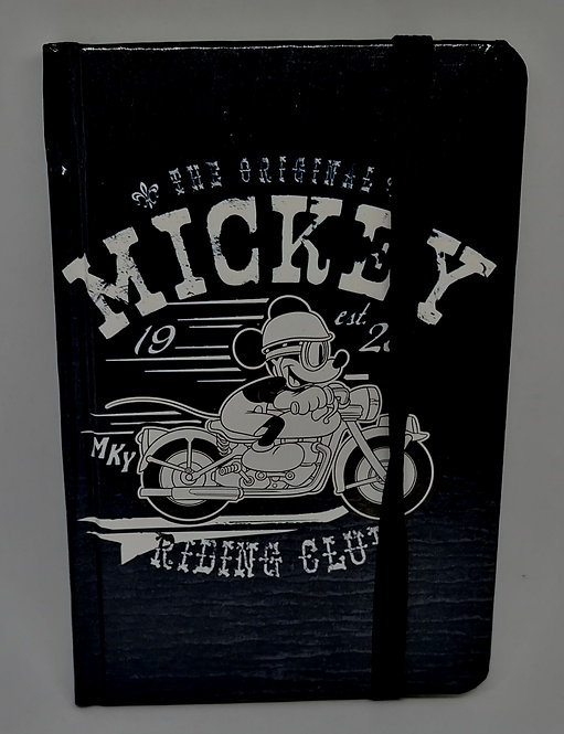 Caderno Mickey na moto