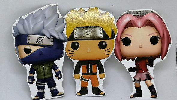 Ímãs - Naruto