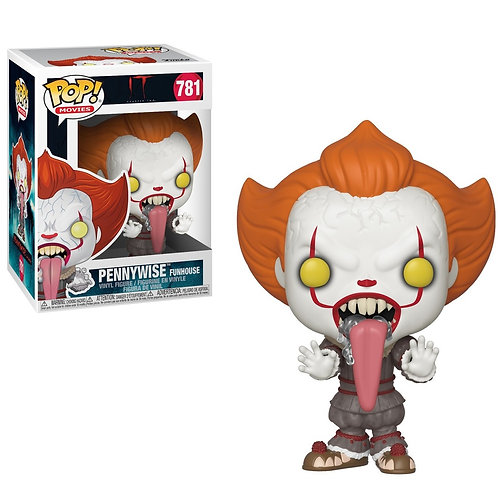 Pennywise Funhouse Funko Pop! #781 IT Palhaço Assassino