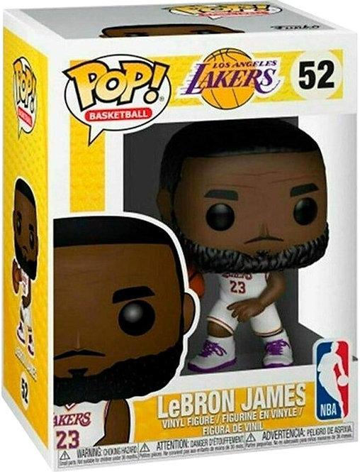 FUNKO POP! NBA: Lakers - Lebron James (uniforme branco)