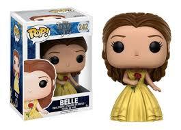 Bella (Belle) com a rosa