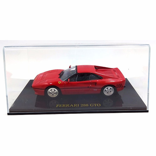 Ferrari 288 GTO vermelha - escala 1/43