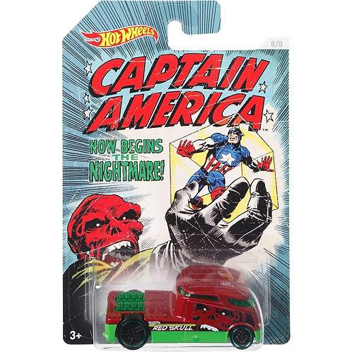 Hot Wheels Marvel - Capitão América - Qombee