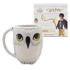 Caneca porcelana Hedwig Harry Potter - Zona Criativa