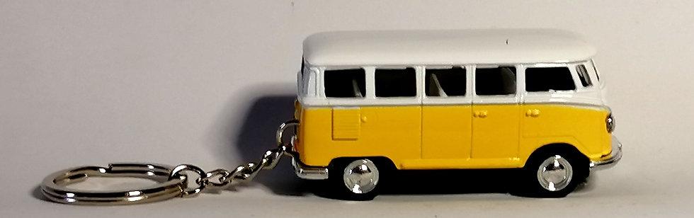 Chaveiro Die Cast Volkswagen Kombi 1962 amarela