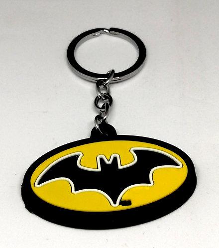 Chaveiro Batman de borracha