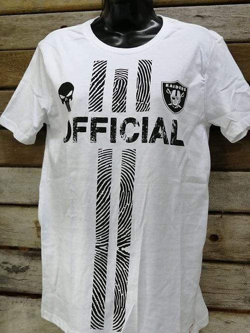 Camiseta NFL Raiders Punisher Justiceiro