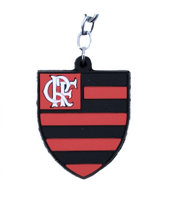 Chaveiro de borracha do Flamengo
