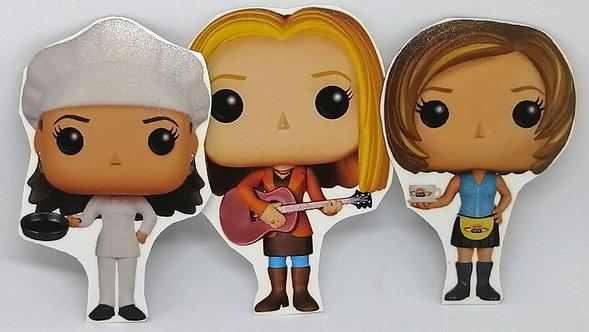 Ímãs - Friends (Mônica, Rachel, Chandler, Joey, Ross e Phoebe)