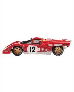 Ferrari 512 M vermelha - escala 1/43