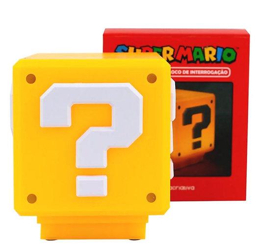 Luminária Mario Bros - Interrogação