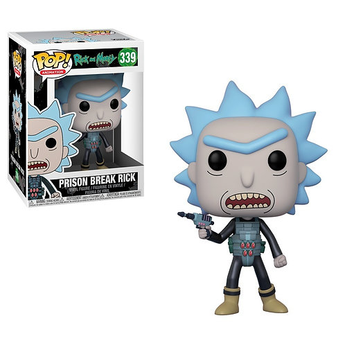 Prison Break Rick Funko Pop! Rick and Morty #339