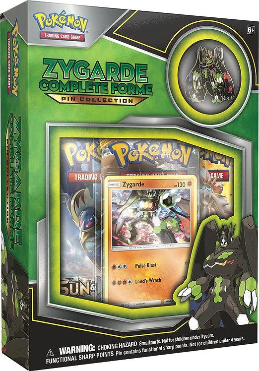 Pokémon Box Zygarde - Coleção com broche