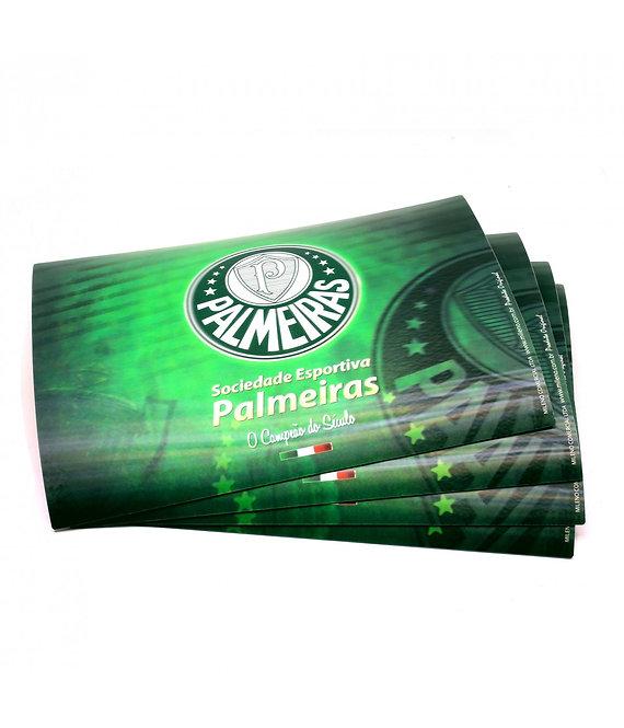 Jogo americano 3D do Palmeiras (4 peças)