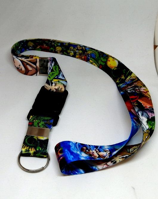 Chaveiro-cordão DragonBall