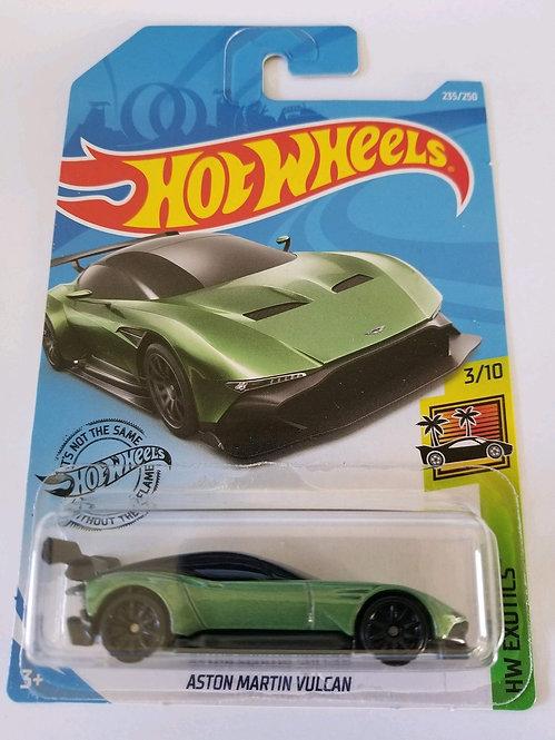 Aston Martin Vulcan - verde Hot Wheels